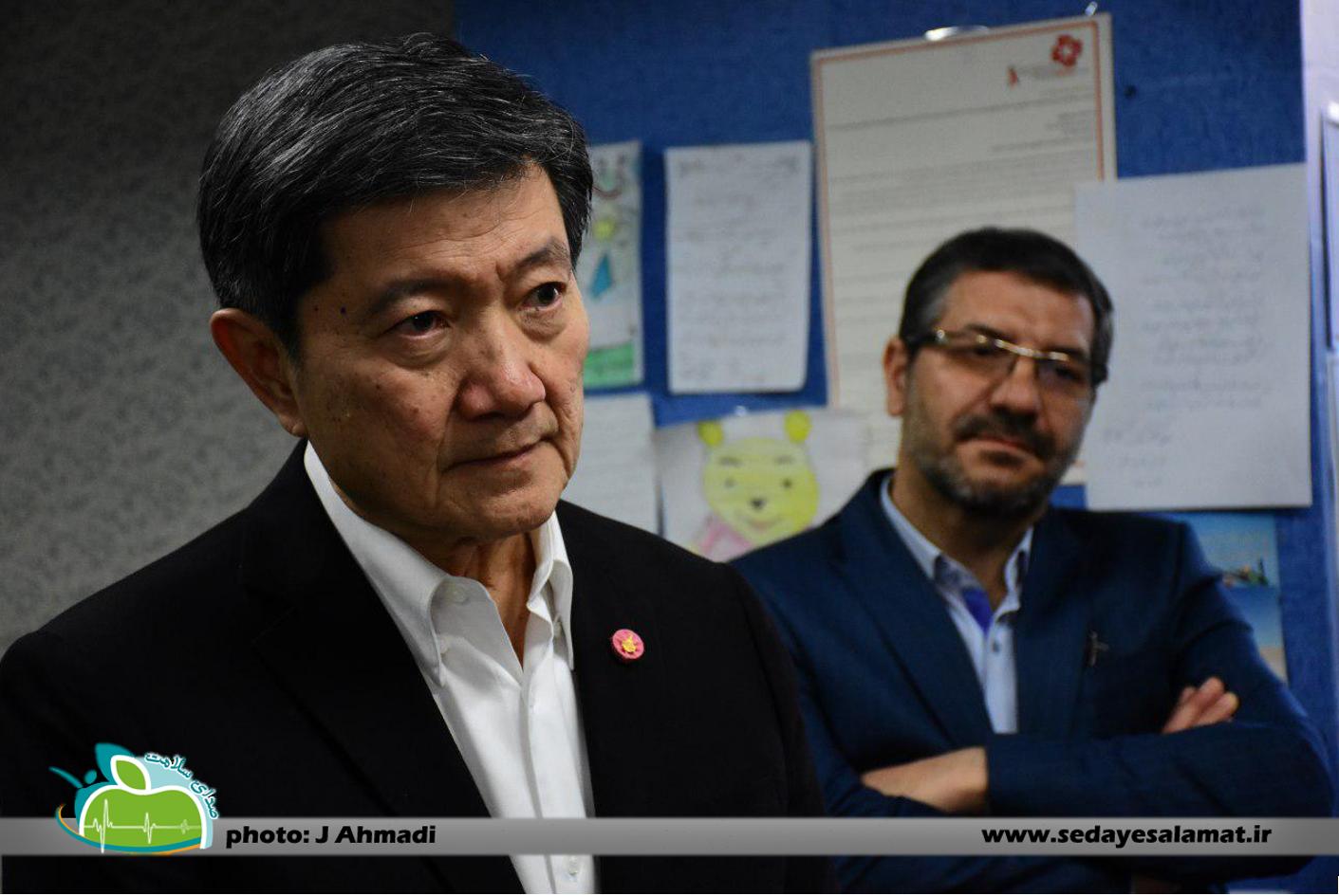 سفر وزیر بهداشت تایلند به اصفهان (12)
