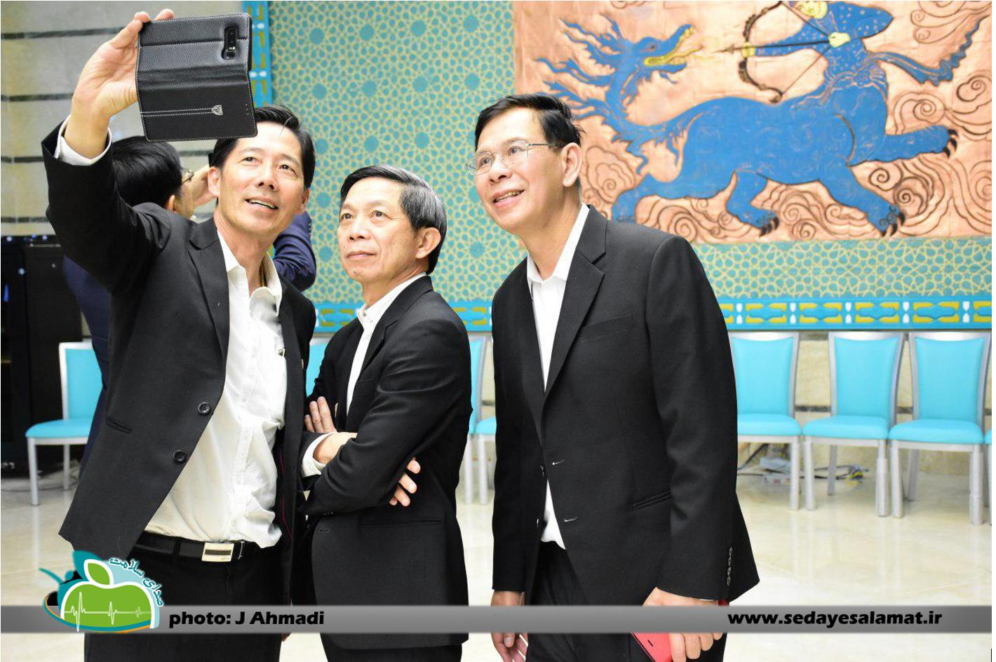سفر وزیر بهداشت تایلند به اصفهان (13)