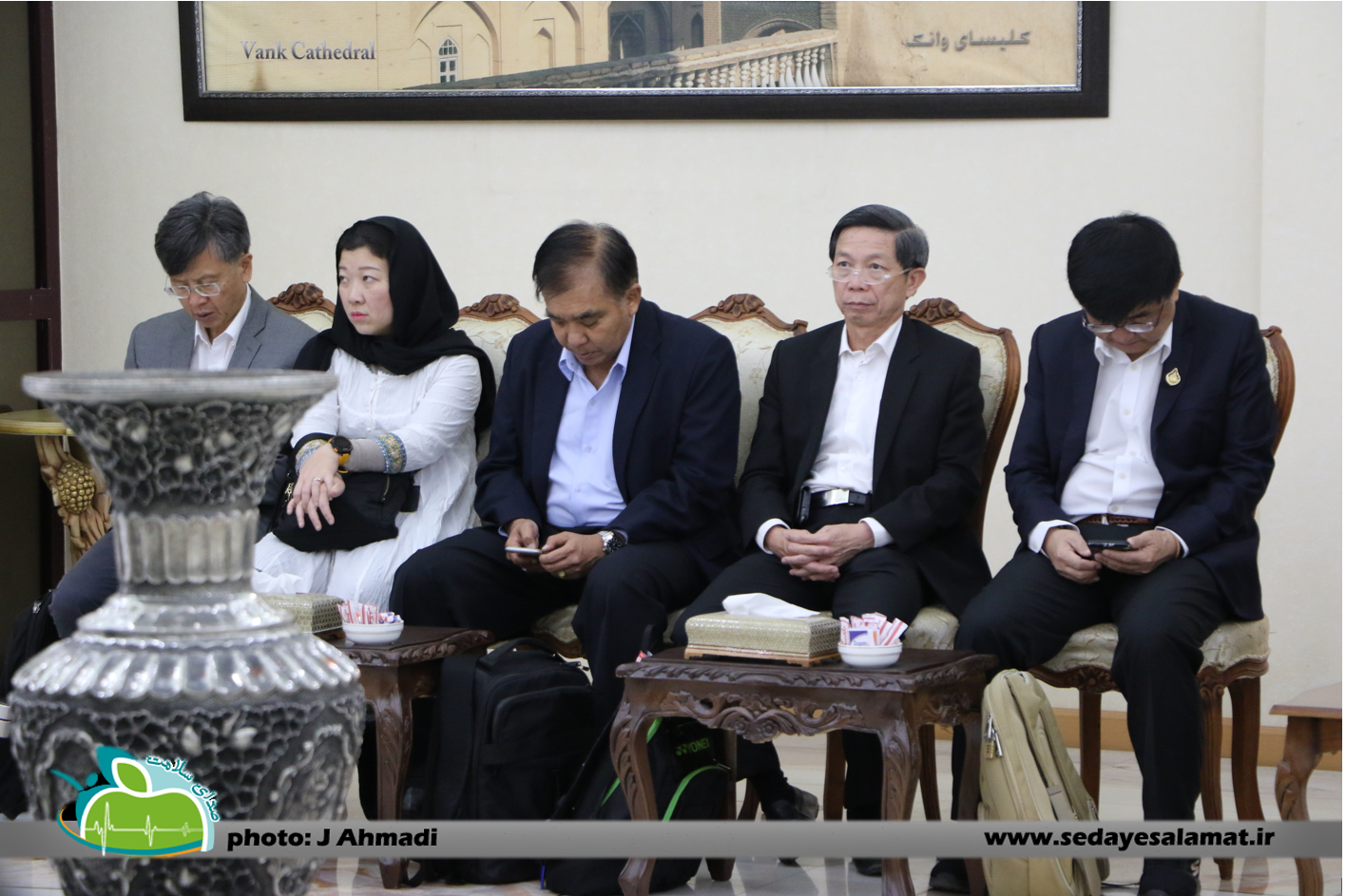 سفر وزیر بهداشت تایلند به اصفهان (18)
