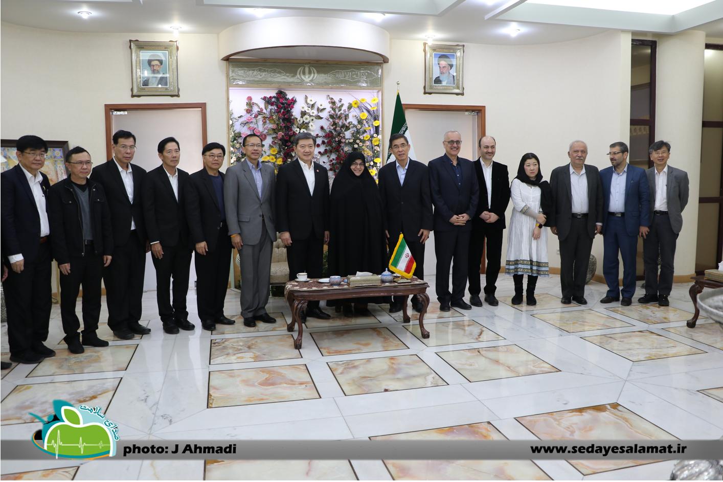سفر وزیر بهداشت تایلند به اصفهان (19)