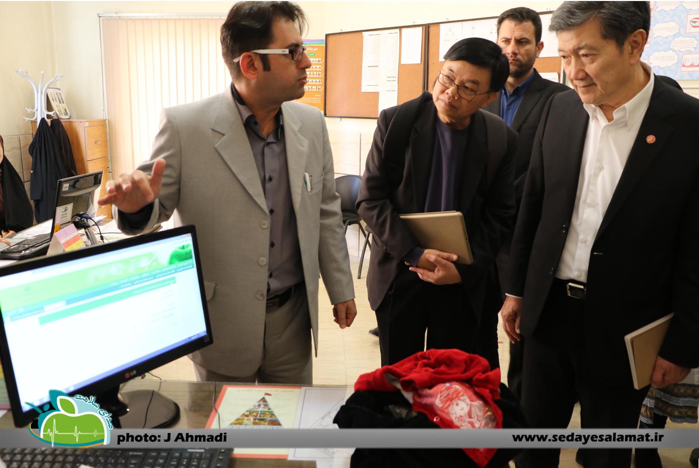 سفر وزیر بهداشت تایلند به اصفهان (2)