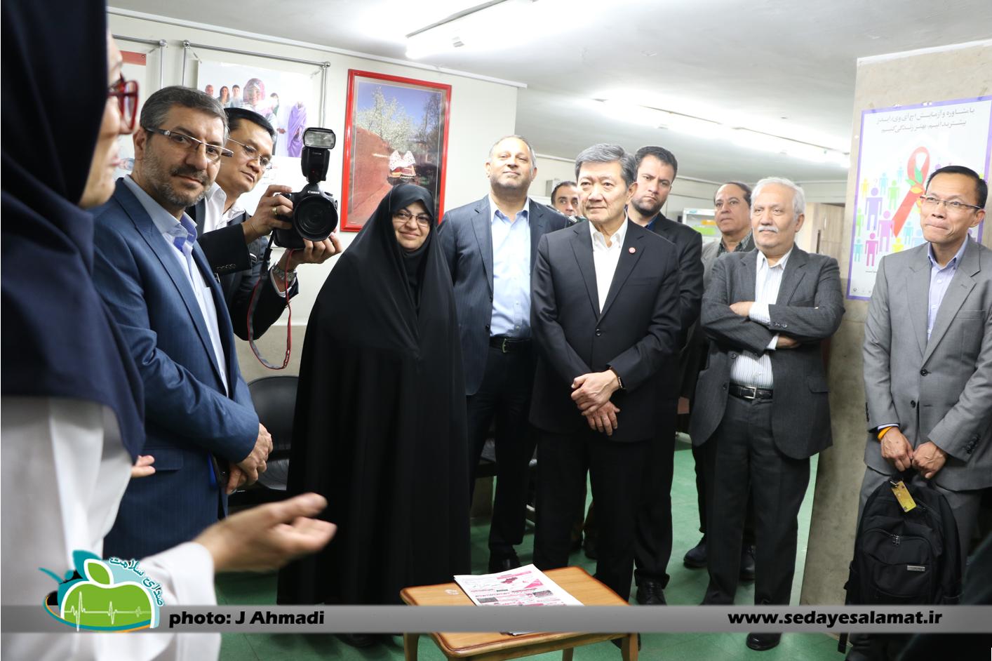 سفر وزیر بهداشت تایلند به اصفهان (6)