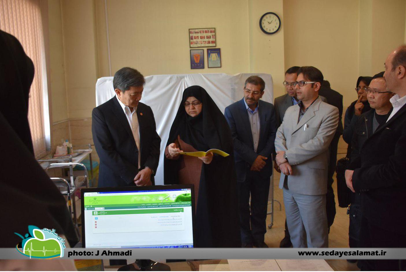 سفر وزیر بهداشت تایلند به اصفهان (9)