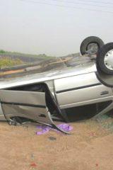 واژگونی خودرو با دو کشته در اردستان