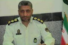 سرهنگ مهرانفر فرمانده انتظامی اردستان