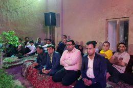 محفل شعر و ادب در شهر مهاباد