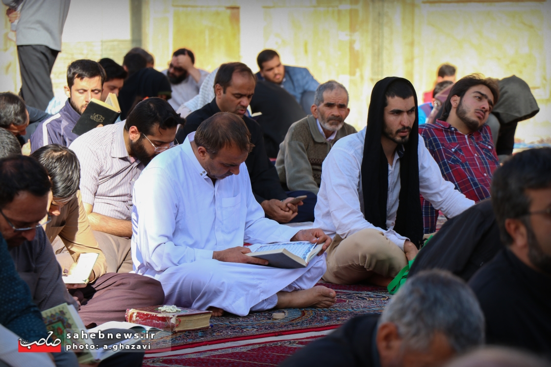 اعتکاف مسجد جامع اصفهان (1)