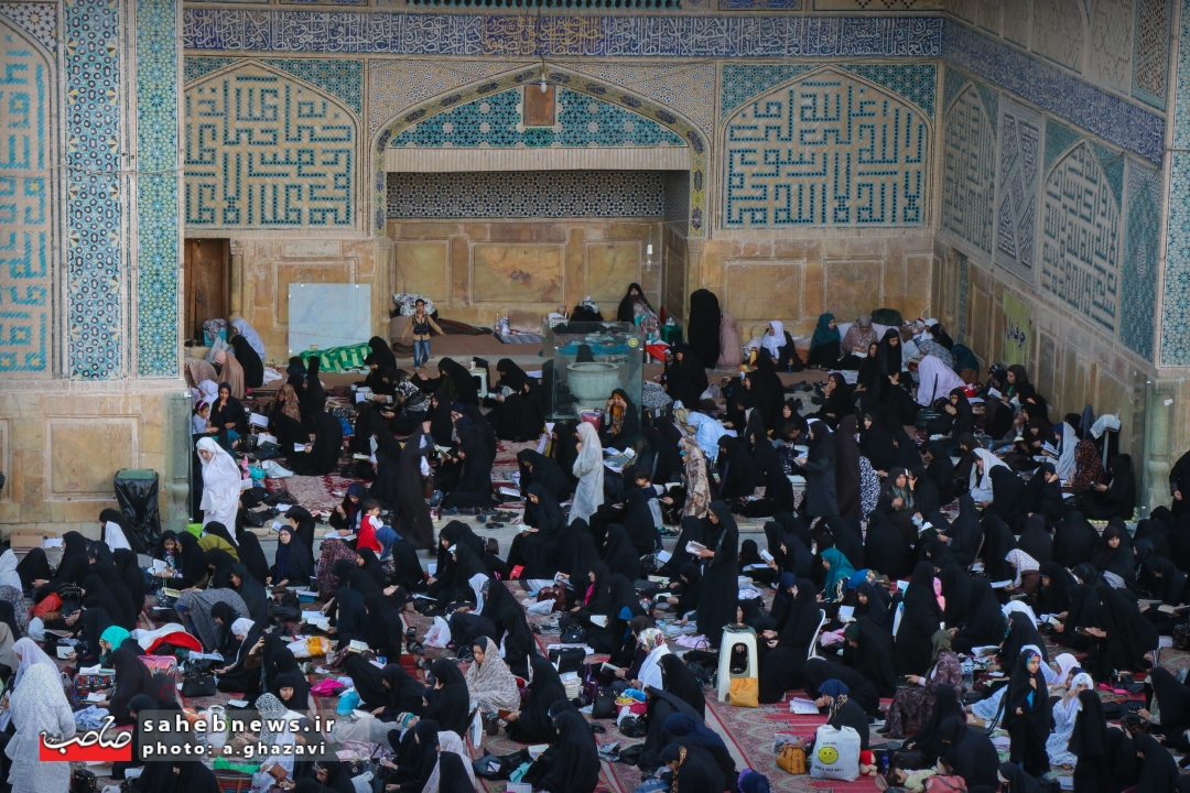 اعتکاف مسجد جامع اصفهان (16)
