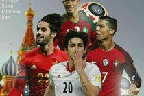 تیم-ملی-پرتغال،-ایران-و-مراکش-حریفان-اسپانیا-در-جام-جهانی