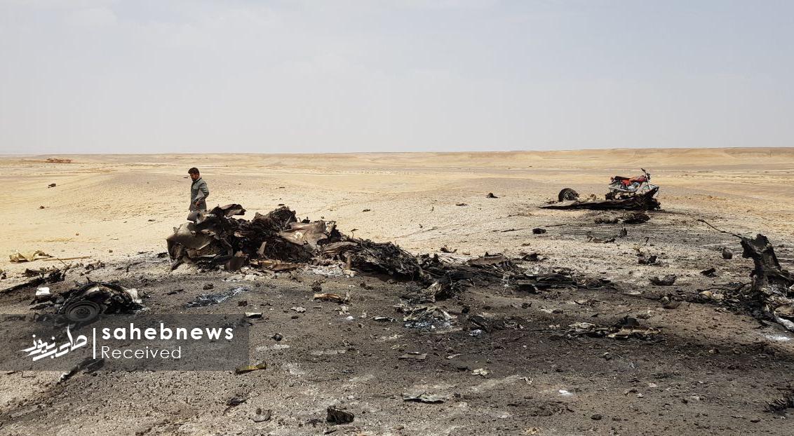 سقوط هواپیمای ارتش اصفهان (1)