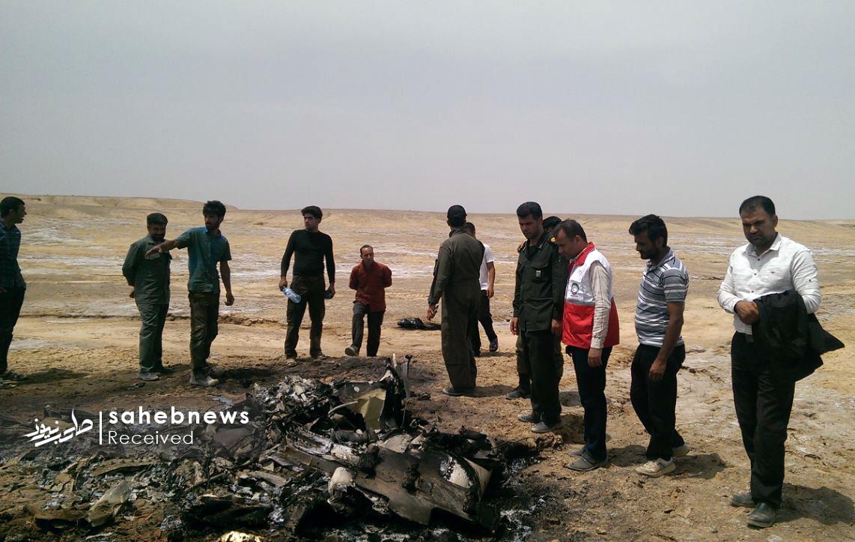 سقوط هواپیمای ارتش اصفهان (3)