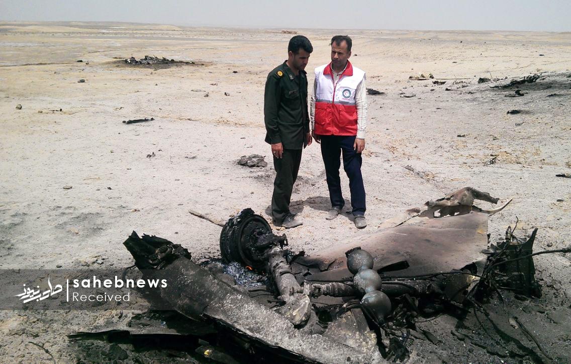 سقوط هواپیمای ارتش اصفهان (5)