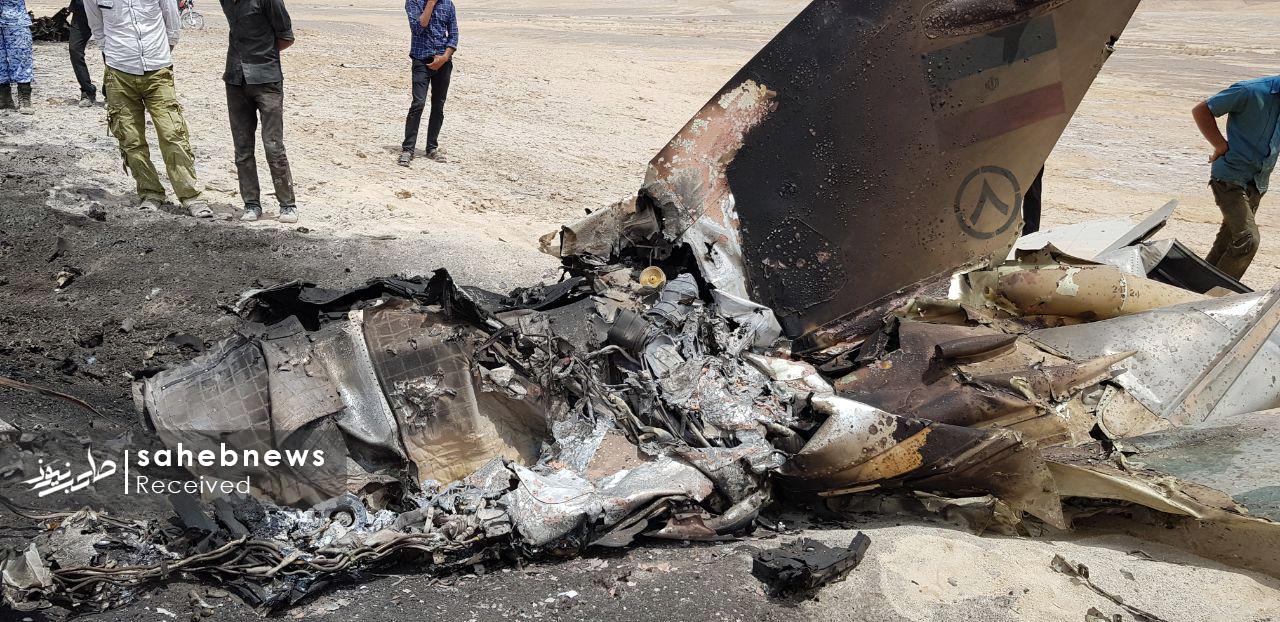 سقوط هواپیمای ارتش اصفهان (6)