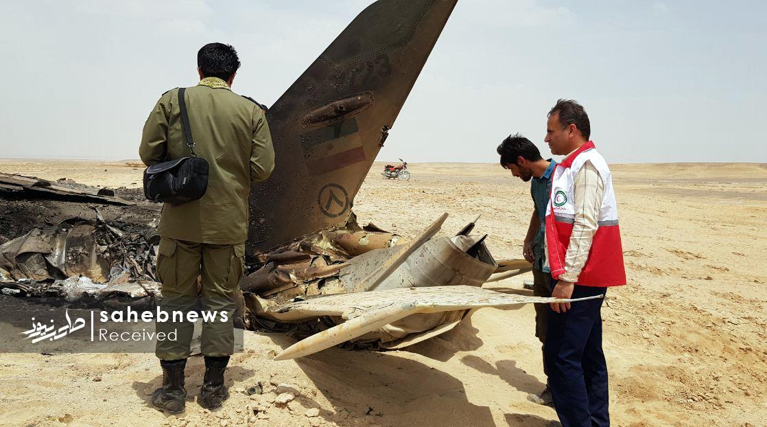 سقوط هواپیمای ارتش اصفهان (7)