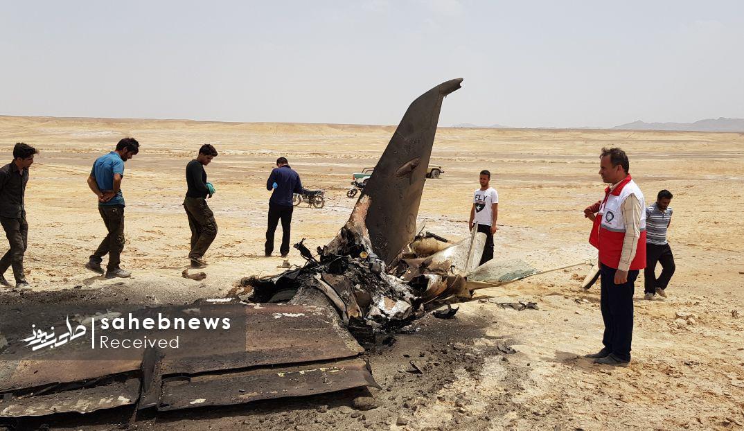 سقوط هواپیمای ارتش اصفهان (9)