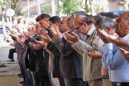 نماز عید فطر فریدونشهر
