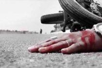 سقوط موتور سیکلت