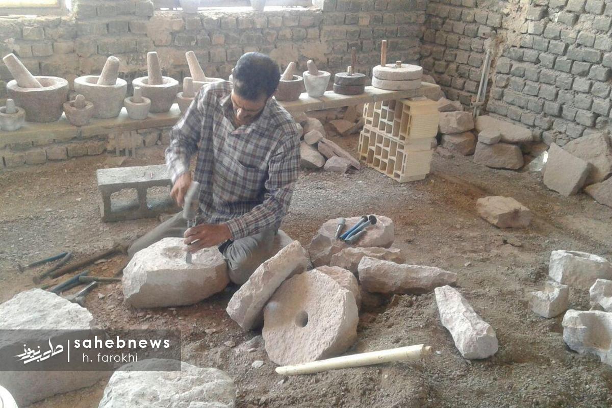 سنگ تراشی در اردستان
