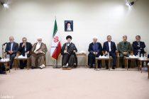 دیدار رئیسجمهور و اعضای هیأت دولت