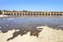 رهاسازی آب در زاینده رود