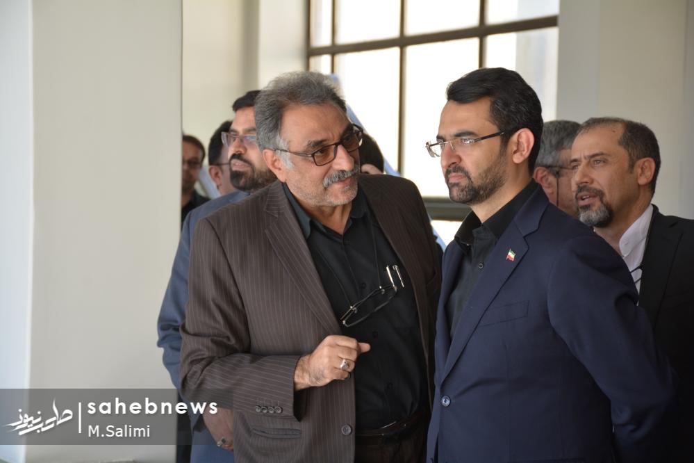 وزیر ارتباطات - خمینی شهر (3)