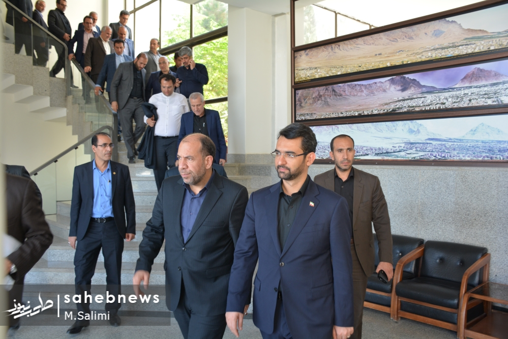 وزیر ارتباطات - خمینی شهر (5)