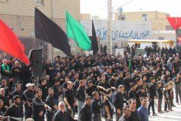تجمع تاسوعائیان در اردستان