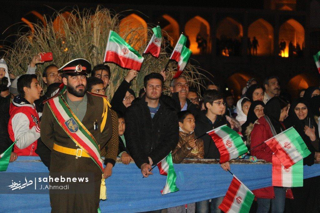 نورافشانی 22 بهمن اصفهان (9)