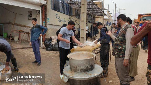 سیل خوزستان پلدختر موکب اربعین (2)