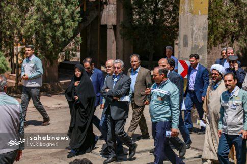 وزیر نیرو در مبارکه (4)