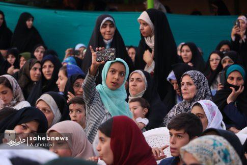 مراسم عفاف و حجاب بهارستان اصفهان الهام چرخنده (11)