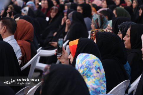 مراسم عفاف و حجاب بهارستان اصفهان الهام چرخنده (12)