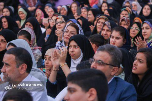 مراسم عفاف و حجاب بهارستان اصفهان الهام چرخنده (13)