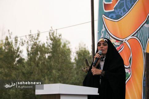 مراسم عفاف و حجاب بهارستان اصفهان الهام چرخنده (15)