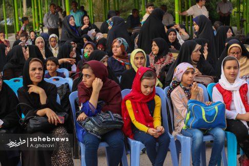 مراسم عفاف و حجاب بهارستان اصفهان الهام چرخنده (2)