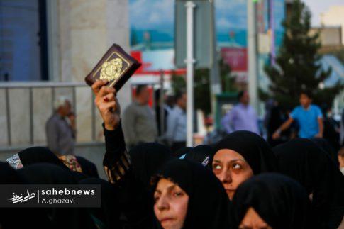 مراسم عفاف و حجاب بهارستان اصفهان الهام چرخنده (23)