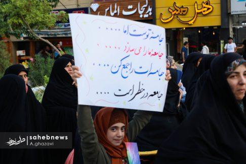 مراسم عفاف و حجاب بهارستان اصفهان الهام چرخنده (24)