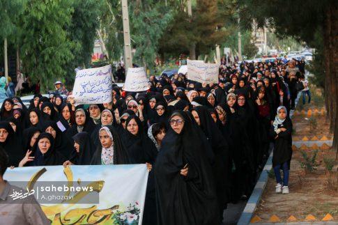 مراسم عفاف و حجاب بهارستان اصفهان الهام چرخنده (25)