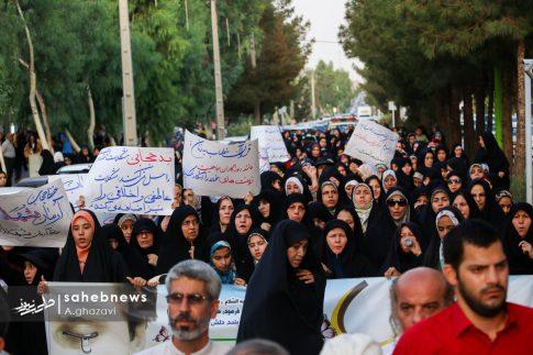 مراسم عفاف و حجاب بهارستان اصفهان الهام چرخنده (26)