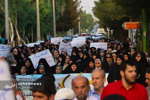 مراسم عفاف و حجاب بهارستان اصفهان الهام چرخنده (27)