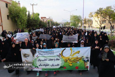 مراسم عفاف و حجاب بهارستان اصفهان الهام چرخنده (29)