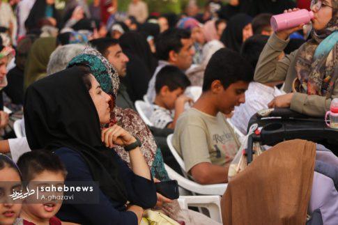 مراسم عفاف و حجاب بهارستان اصفهان الهام چرخنده (3)