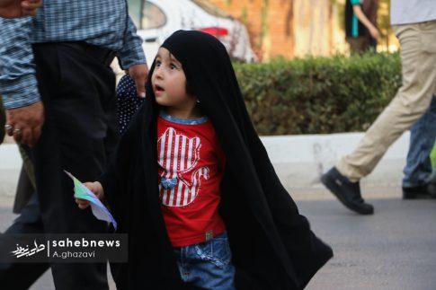 مراسم عفاف و حجاب بهارستان اصفهان الهام چرخنده (31)
