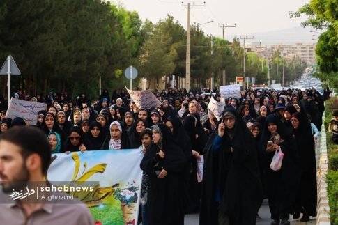 مراسم عفاف و حجاب بهارستان اصفهان الهام چرخنده (34)
