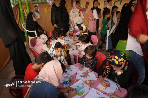 مراسم عفاف و حجاب بهارستان اصفهان الهام چرخنده (4)