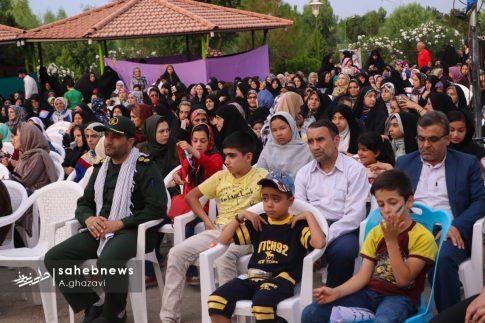 مراسم عفاف و حجاب بهارستان اصفهان الهام چرخنده (6)