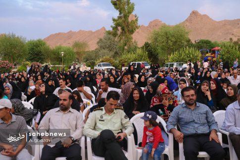 مراسم عفاف و حجاب بهارستان اصفهان الهام چرخنده (7)