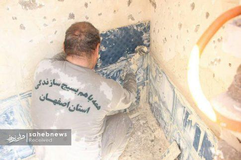 بسیج سازندگی اصفهان سیل پلدختر (19)