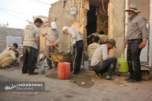 بسیج سازندگی اصفهان سیل پلدختر (3)