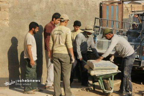 بسیج سازندگی اصفهان سیل پلدختر (4)